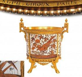 Duvinage, Giroux, Bronze / Ivory Jardini�re,  XVersace
