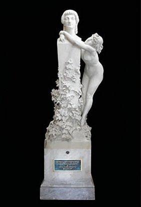 Important Monumental Marble Sculpture