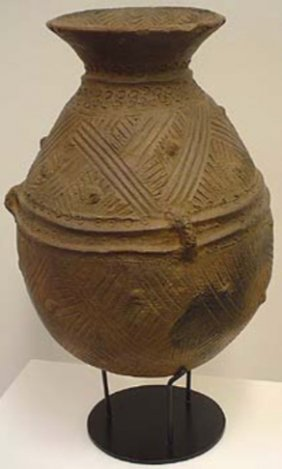 Ceremonial Millet Pot - Terra Cotta.