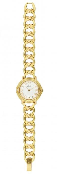 Hermes, 18 Karat Gold Wristwatch