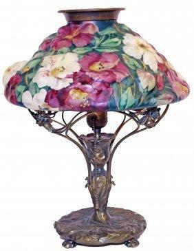 """Pairpoint, """"puffy"""" Lamp, Circa 1900"""