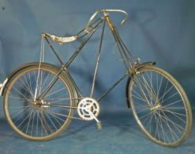 A Rare Dursley And Pederson 1898 To 1904 Bicycle