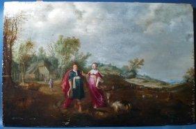 Jan I Bruegel Old Master Flemish Painting 17th Centu