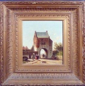 Jan Weissenbruch (Netherlands 1822-1880)