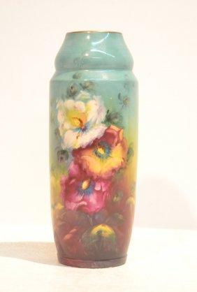 Royal Bonn Floral Decorated Vase