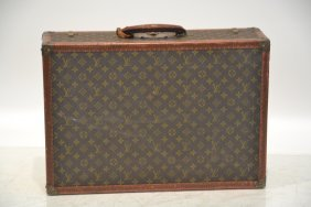 Vintage Louis Vuitton Case With Original Label