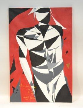 Robert Jablonski ; 2014 Warsaw Oil On Canvas