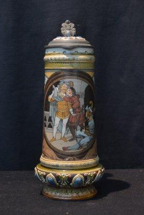 Mettlach # 2690 Stein ; 1901 Ein Konig