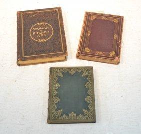 Leather Bound Art Folio Books - J.m. Nattier