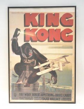 Rene Peron King Kong Poster Print ;