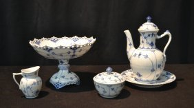 Royal Copenhagen Porcelain Lot Consisting Of