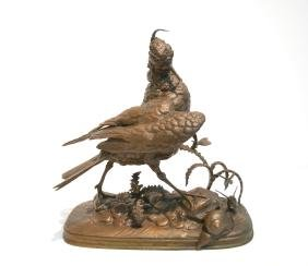 Ferdinand Pautrot (french , 1832-1874) Bronze
