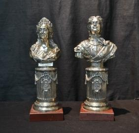 (pr) Imperial 84 Russian Silver Busts Of