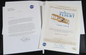 Wright Brothers Flown 100th Anniversary Flag