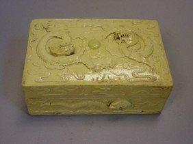 Porcelain Ink Stone Box