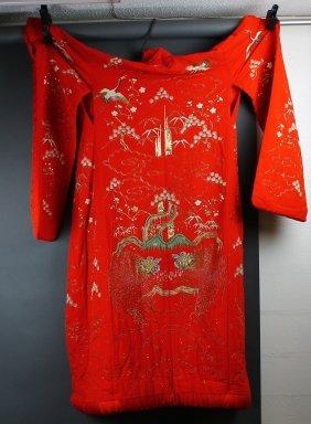 Fabulous Vintage Japanese Wedding Robe