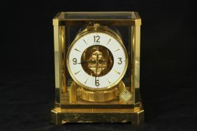 Le Coultre Atmos Perpetual Motion Clock