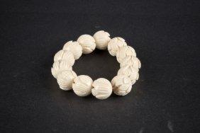 Bone-carved Bracelet