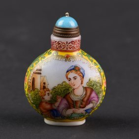 Packing Glass Snuff Bottle