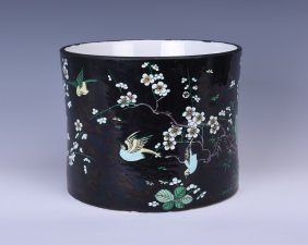 Chinese Porcelain Brushpot