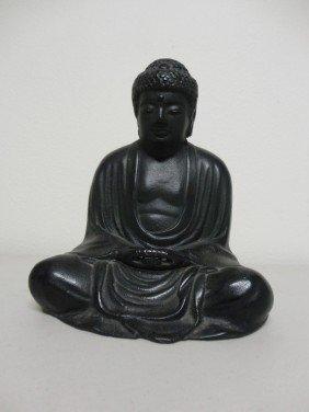 Japanese Iron Cast Budda