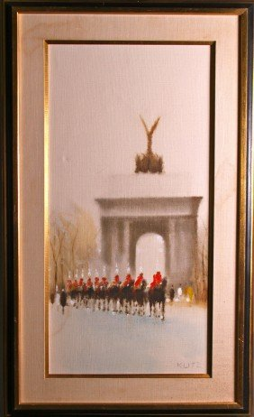 "Anthony Robert Klitz (1917-2000)  ""Wellington Arch"""
