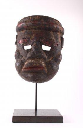 Antique Rare African Tribal Mask, Ivory Coast.