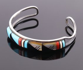 Zuni, Signed By Artist, Native American Indian Silver