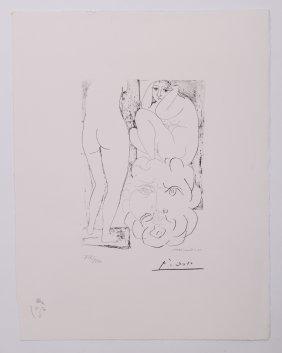 Pablo Picasso (1881-1973), Vollard Suite Planche Lxxv L