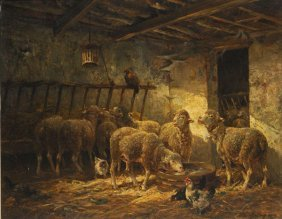 JACQUE, Charles Emile (1813-1894)
