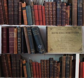 Essays, In French – Approximately 40 Volumes Natural