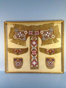 Framed Plains Indians Dress Dance Outfit