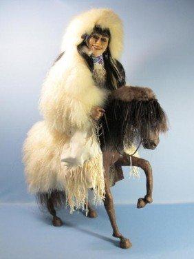 Native American Sculpture By M. Malpica