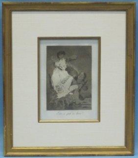 Francisco De Goya (1746-1828), Los Caprichos #29