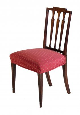 Mahogany Hepplewhite Side Chair