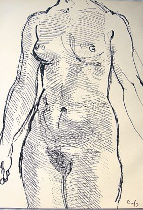 RAOUL DUFY, Original Lithograph Hand Signed