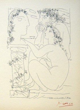 Pablo PICASSO; Suite Vollard; Sculpteur Et Mod�le A