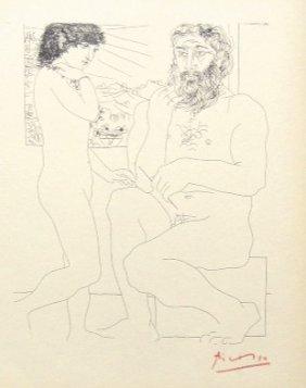 Pablo PICASSO; Suite Vollard; Sculpteur Et Mod�le D