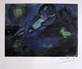 Marc CHAGALL, Signed Special Print, 1962