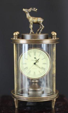 Bronze Buck Clock