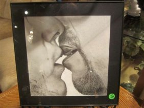 "ORIGINAL GRAPHITE DRAWING ON PAPER - ""PASSION"" BY A"