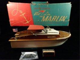 "Vintage 1950's Fleet Line ""marlin"" Battery Powered"