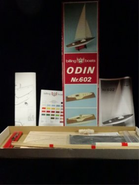 "Billing Boats Boat Model Kit, #602, ""odin"""