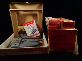 4 Pc Vintage Train Equipment, Include Audio-engineer By