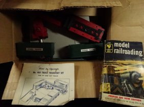 Vintage Train Equipment, Lionel #460 Truck Transport