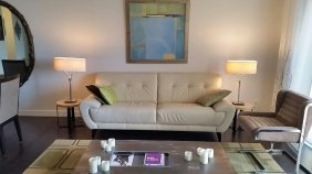 Modern Design White Leather Sofa, Chateau D'ax;; Online