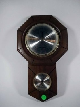 Jason Empire Barometer & Thermometer, Approx