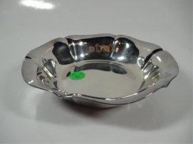 "Reed & Barton Silverplate Bowl, #1600 Salem, Approx 6"""