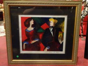 Linda Le Kinff Limited Edition Seriograph, Female And