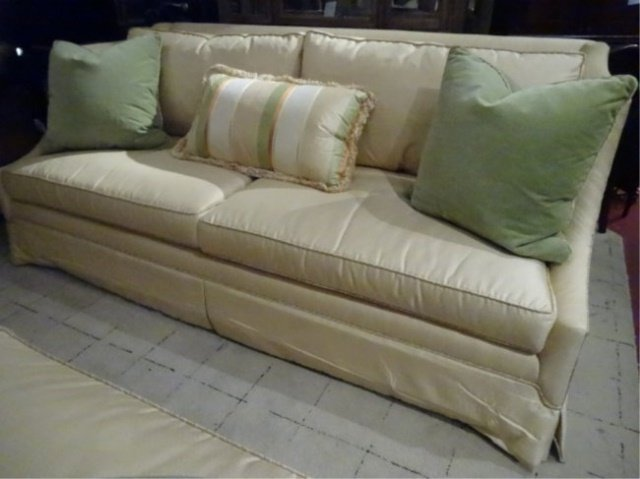 Ej Victor Sofa For Robb Stucky Pale Yellow With Pale